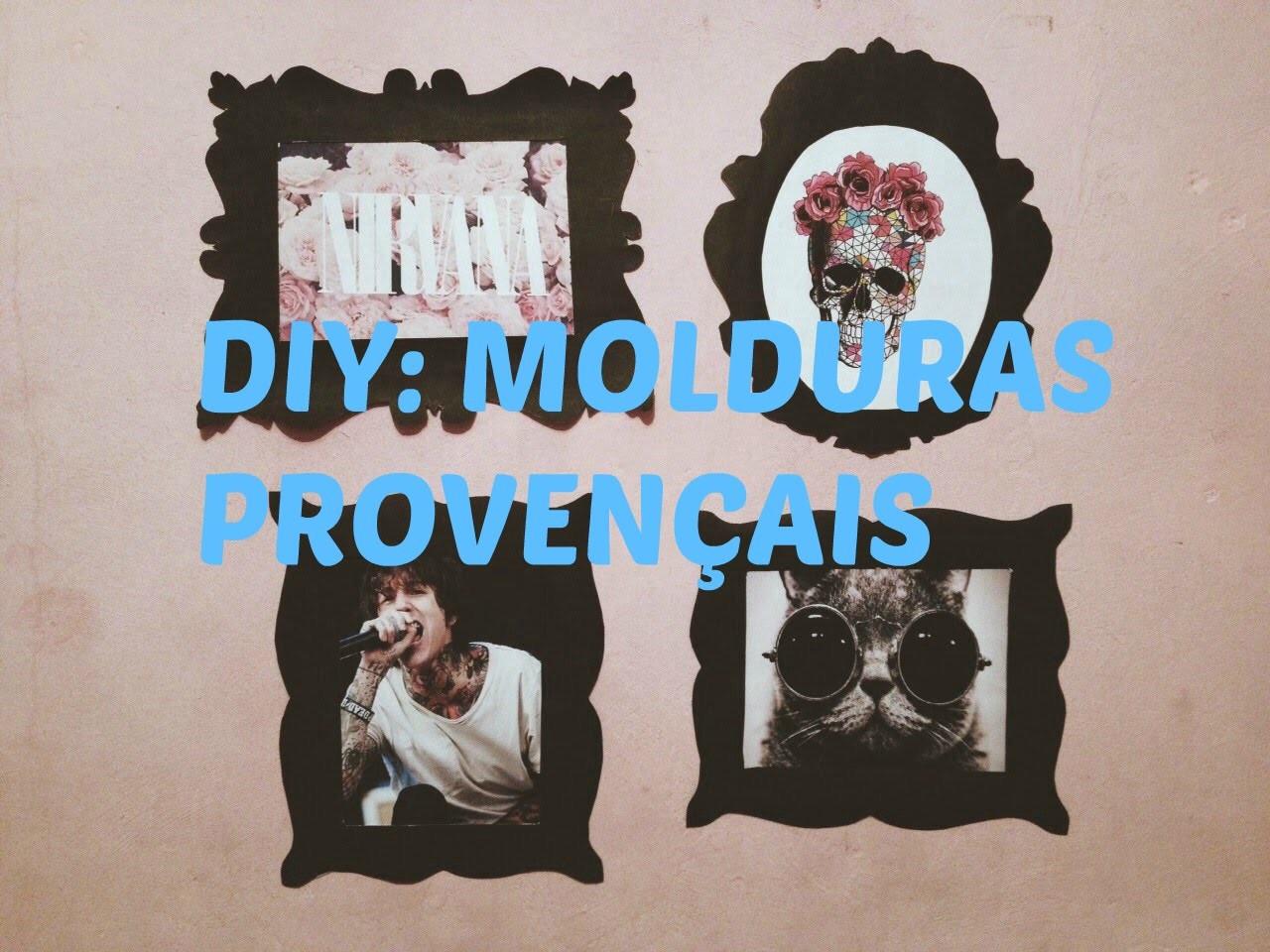 DIY: Molduras Provençais | Drika Rosa