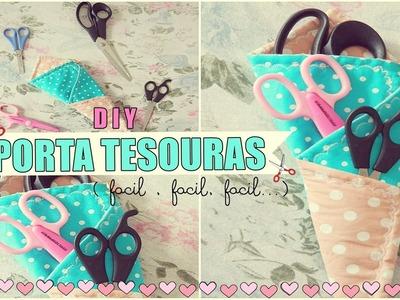 DIY | Porta Tesouras ( fácil)  ♥