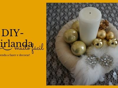 Diy-Aprenda a fazer uma girlanda e como decorar dia # 16