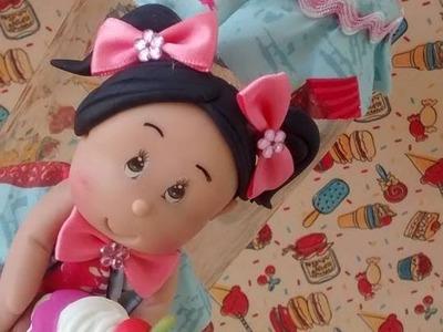 DIY-cantinho dos sonhos-pote decorado cupcake - biscuit