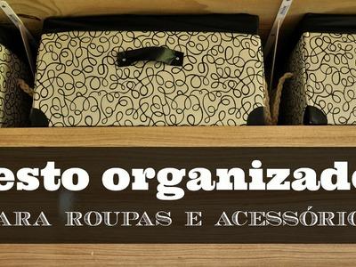 CESTO ORGANIZADOR D.I.Y. | #POCFazendoArte Ep. 27