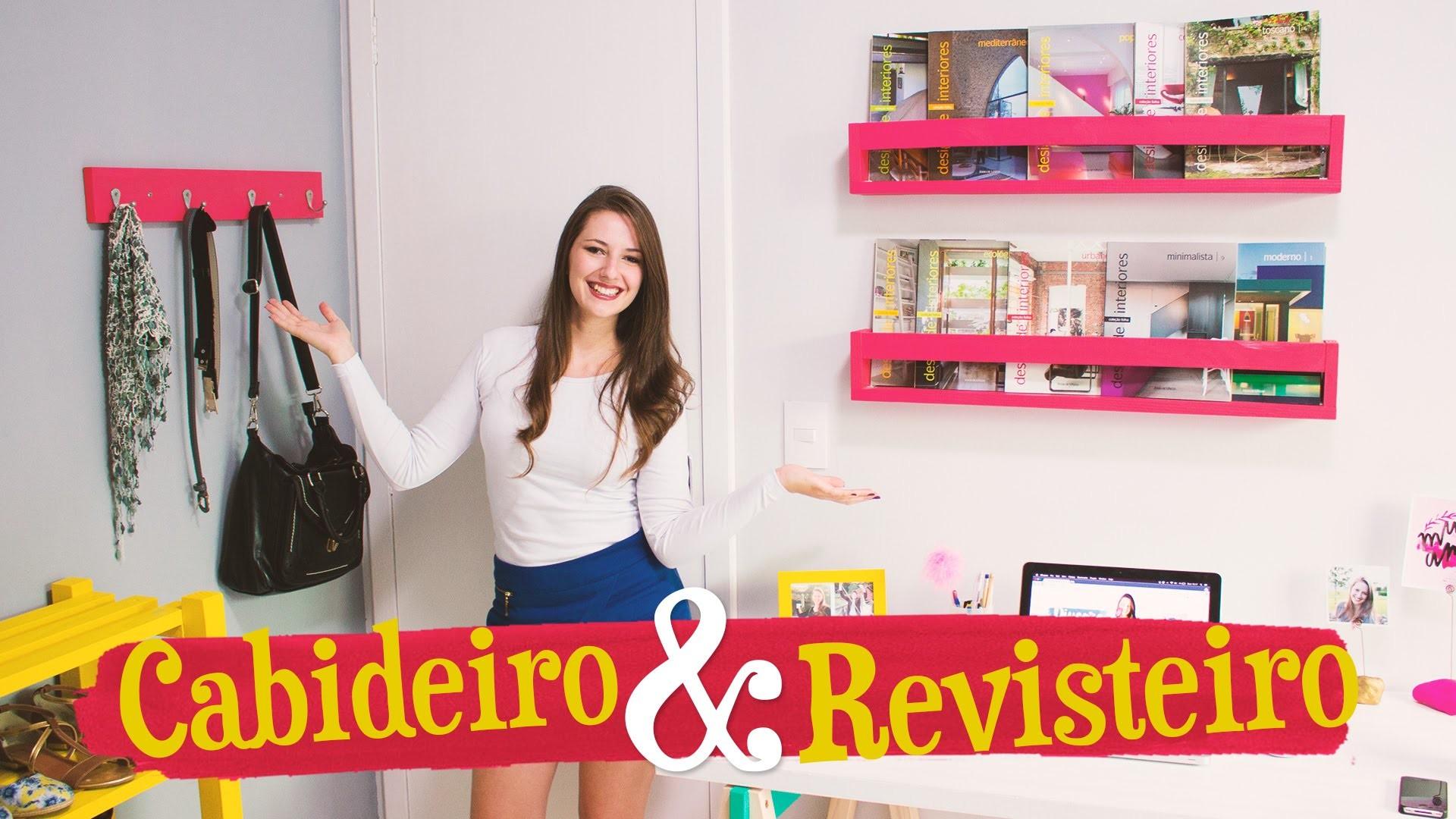 DIY - CABIDEIRO & REVISTEIRO. Móveis do Meu Quarto PARTE 3