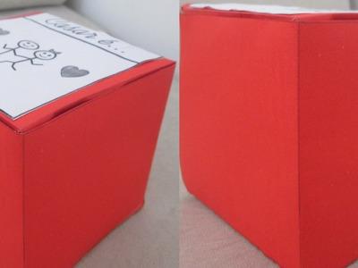 DIY - Caixa de Presente | Dia dos namorados