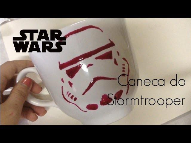 DIY Caneca Stormtrooper - Star Wars