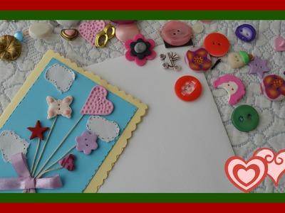 DIY Como fazer postais de Natal