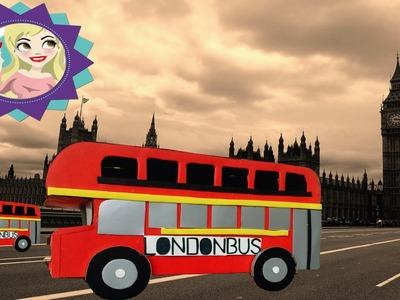 DiY Ônibus de Londres - London Bus- Faça você mesmo|Tatiane Xavier