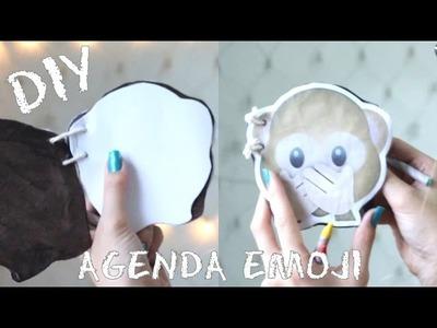 Como fazer uma agenda emoji - DIY Emoji Notebook Tutorial