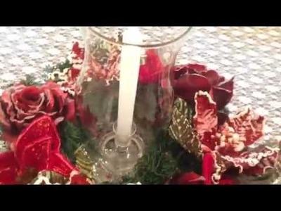 Diy- 2 Arranjos para o natal (muito fácil) dia #9