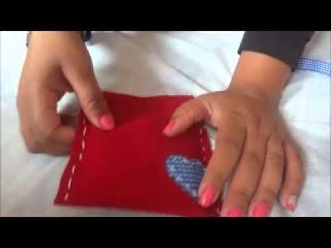 DIY: Bolsa de Feltro (brinde para chá de cozinha)