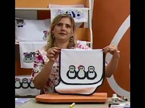 Porta Assadeira com Barrado de Pinguim com Taty Freitas | Vitrine do Artesanato na TV