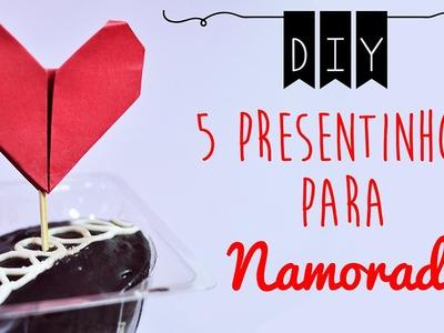DIY :: 5 Presentinhos para Dia dos Namorados ♥ Faça você mesma