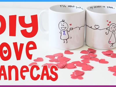 Faça você mesmo: DIY - Canecas Personalizadas (Dica para Dia dos Namorados)