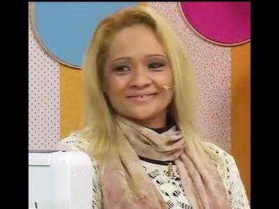 Porta cartão em Patchwork com Elizandra Sobral | Vitrine do Artesanato na TV