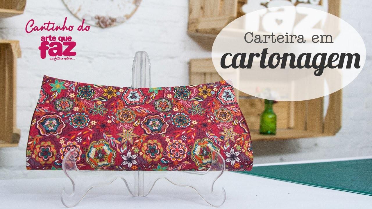 DIY - Carteira em Cartonagem (Ana Cristina)