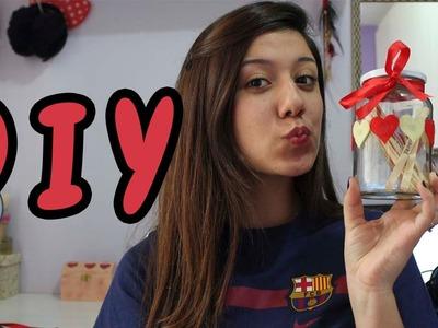 DIY: Dia dos namorados - Pote de Encontros!