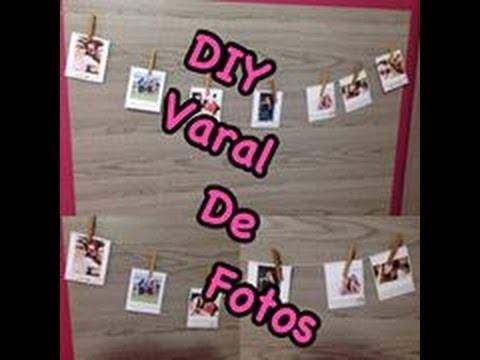 DIY- Varal de Fotos