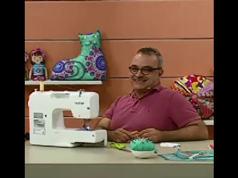 Almofada Corujinha com Afonso Franco   Vitrine do Artesanato na TV
