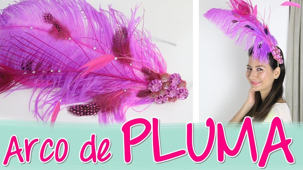 DIY Arco Pluma Carnaval | Baile da Vogue - wFashionista