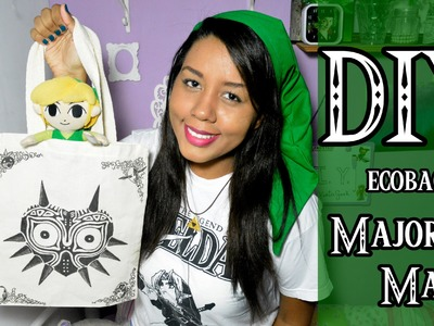 DIY: Bolsa MAJORA'S MASK - THE LEGEND OF ZELDA | Garota VintaGeek