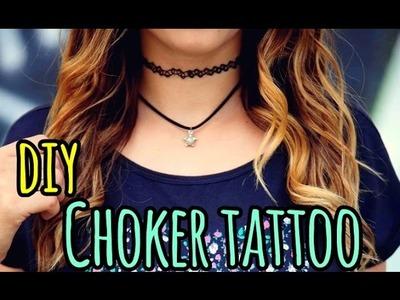 DIY: Choker Tattoo - EM PORTUGUÊS - Por: Layse Araújo