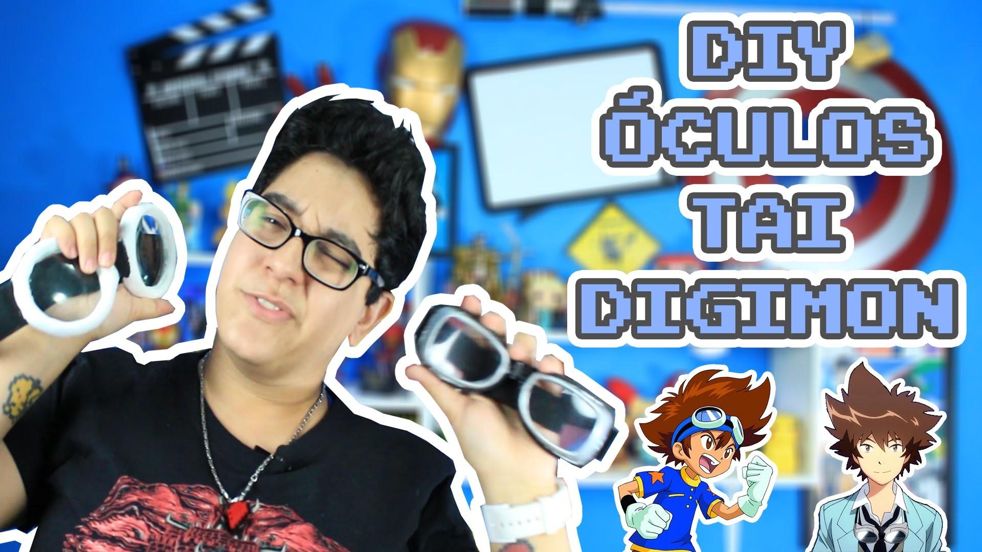 DIY ÓCULOS (GOGGLES) TAI DIGIMON   TiH Edition