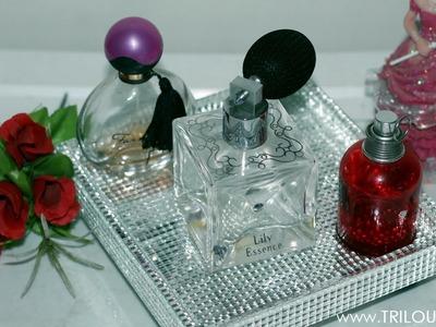 Como fazer Bandeja Espelhada para perfumes | DIY (Fácil)