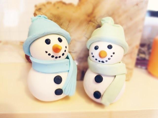 DIY: Boneco de neve.Snowman | Especial de Natal - Arte em Tudo ( Comemoração pelos 100 inscritos!!)