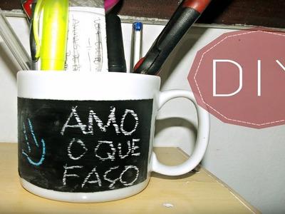 DIY: Caneca Lousa (Blackboard)