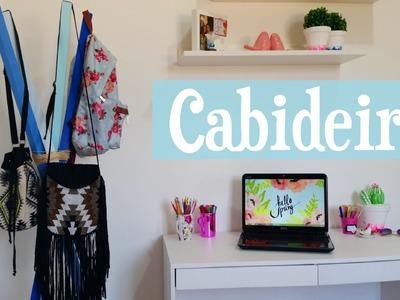 DIY Decoração Quarto - Cabideiro | Maísa Flora