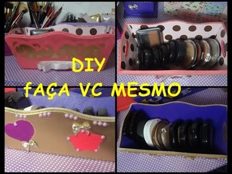 DIY Decore sua caixinha - Ju Makeup