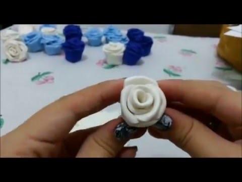DIY: Rosas de eva super fácil e rápido