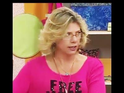 Porta tesoura com Cláudia Ferreira | Vitrine do Artesanato na TV