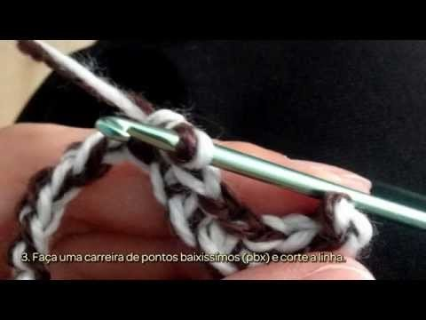 Pretzel de Crochê - Faça Você Mesmo Artesanato - Guidecentral