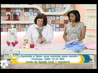 Artesanato - Naninha para bebê