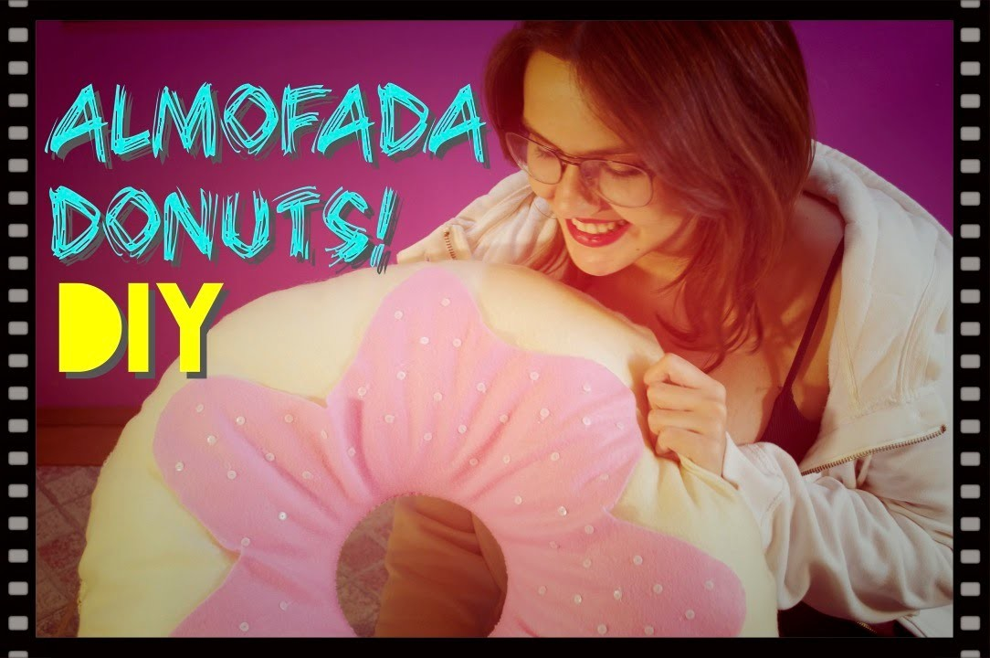 DIY - Almofada Donuts