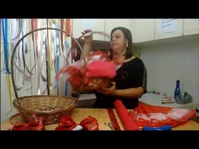 DIY: Cesta de Café da Manhã Dia das Mães - Como fazer - Parte 1