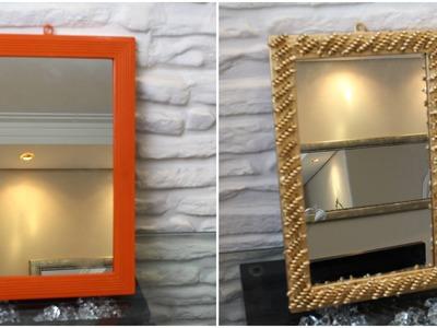 DIY - Como restaurar moldura de espelho