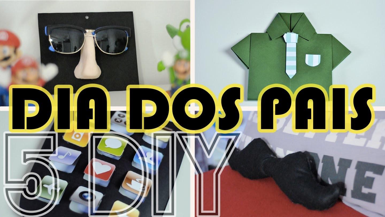 DIY DIA DOS PAIS - 5 Dicas de Lembrancinhas para o dia dos pais   Projeto DIY