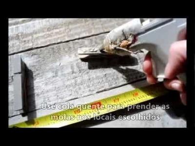 DIY - Arte com Pallet