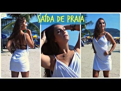 """DIY: Customização - """"SAÍDA DE PRAIA"""" por Elisa Bighetti"""
