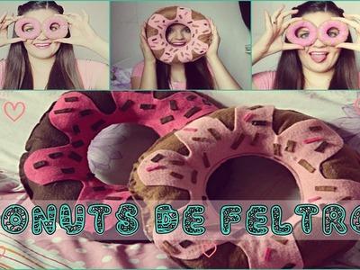DIY :Donuts de Feltro ♥