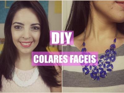 DIY - Como Fazer Maxi Colares Fáceis | Larissa Vale