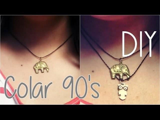 DIY - Colar anos 90