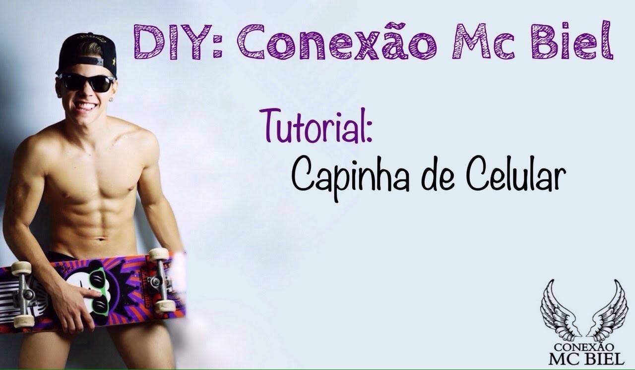 DIY Conexão Biel Brasil: Capinha de Celular