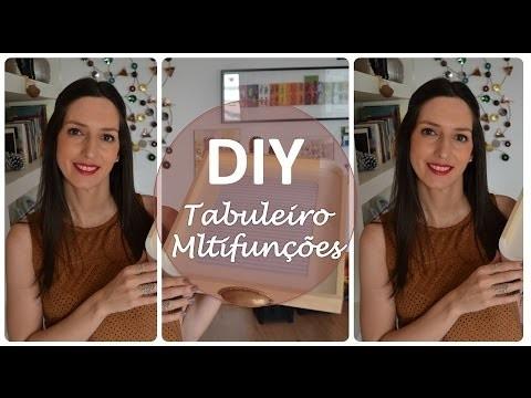 DIY: Tabuleiro Multifunções