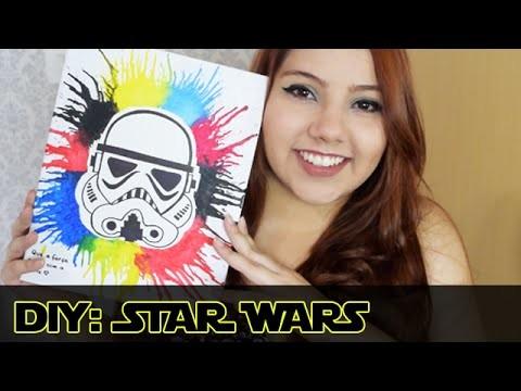 Desafio Méliuz | DIY - Quadro Star Wars | Decoração Geek