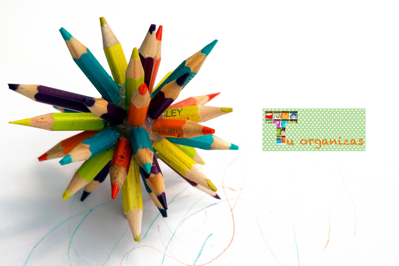 DIY: Bola de Lápis de Cor