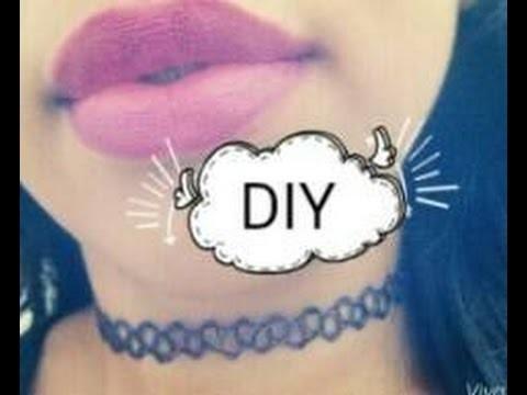 DIY:Choker, Tatto-colar, tendência