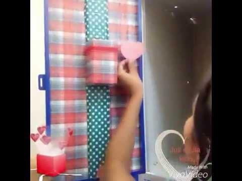 DIY como organizar e decorar seu armário escolar 2016 com materiais simples e recicláveis