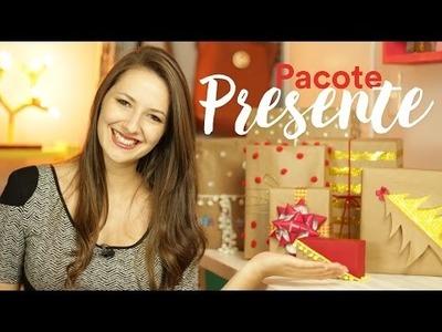 DIY - Pacotes de Presente com Papel Pardo